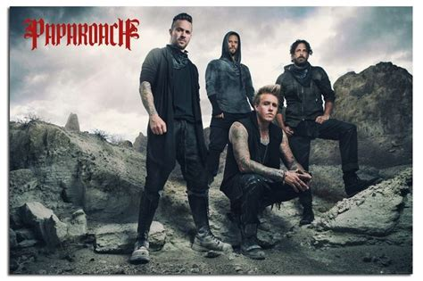 Papa Roach Official Band Poster