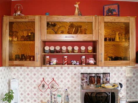 meuble haut cuisine bois meubles de cuisine en chêne rustique et teck le du bois