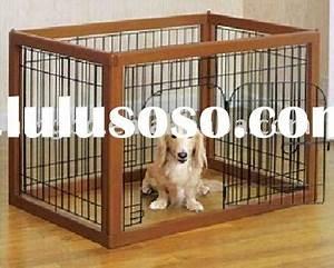 Indoor dog gate wood wooden pet fence for sale price for Wooden indoor dog pen