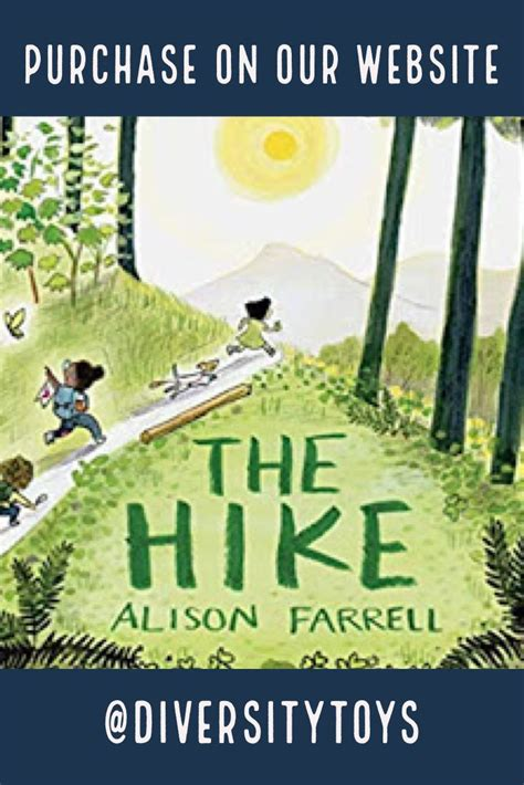 hike nature book  kids outdoors themed picture