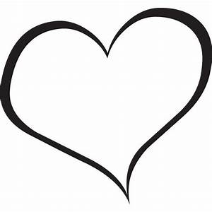 Heart black and white heart clipart black and white ...
