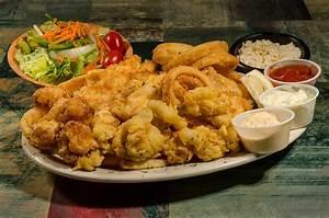 Combo Seafood Plate (Calamari, Scallops, Shrimp) - Russia ...