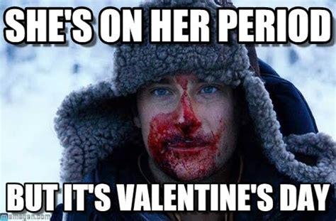 Bear Grylls Blood Meme - she s on her period bear grylls blood meme on memegen