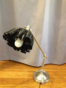 Tutorial rockin desk lamp upcycled vinyl record old for Lamp light records