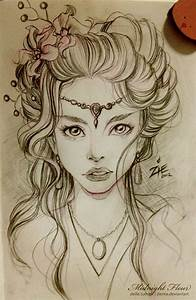 Hair Sketches On Pinterest
