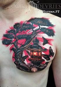Tatouage Arbre Japonais : modele tatouage arbre tattoos tatouage tatouage ~ Melissatoandfro.com Idées de Décoration