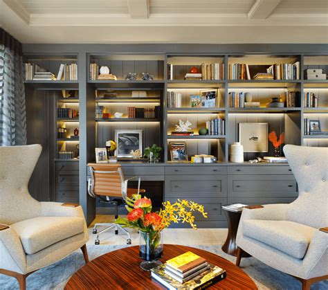 Gray Home Design Ideas by 4 Modern And Chic Ideas For Your Home Office Freshome