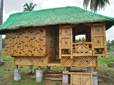 philippine nipa hut designs bamboo models   philippines native house design beach hut