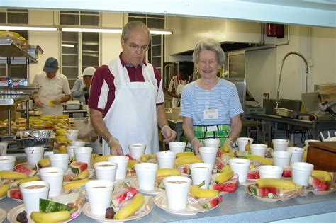 soup kitchen in how do rural and communities affect volunteer trends