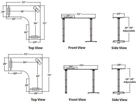 Kitchen Organize Ideas - vox adjustable perfect corner desk free shipping