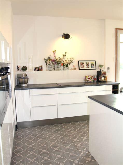 cuisine ikea blanc laque cuisine en image