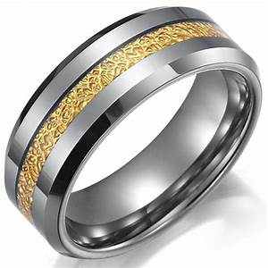 Gold And Silver Mens Wedding Rings Wedding Promise