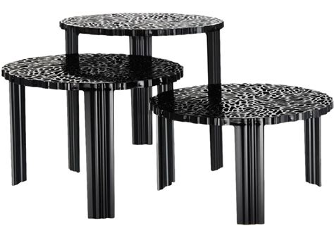 Stylish & functional, a set of new coffee or end tables are the perfect finishing touch for your home. T-Table Coffee Table Kartell - Milia Shop