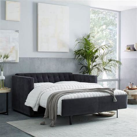 grey sectional sleeper sofa tufted sleeper sofa gray sleeper sofa with novogratz