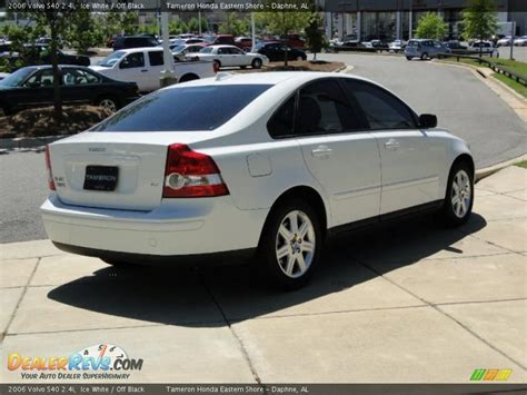 2006 Volvo S40 2.4i Ice White / Off Black Photo #5 ...