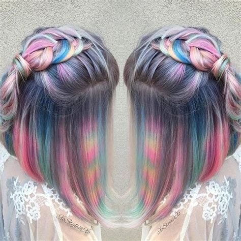 What Color To Dye Hair by Hair Color Trends Tye Dye Hair Color Trend Vogue