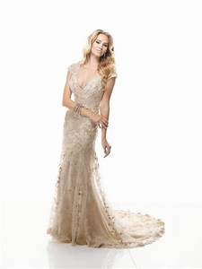 maggie sottero gold wedding dress wedding and bridal With wedding dresses gold