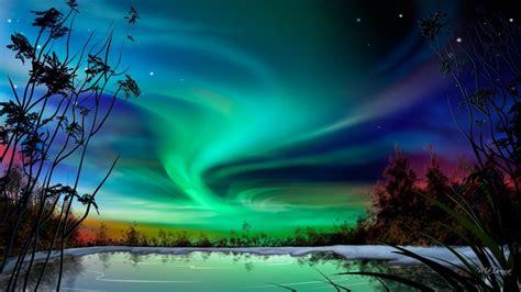 aurora beauty hd desktop wallpaper widescreen high definition fullscreen