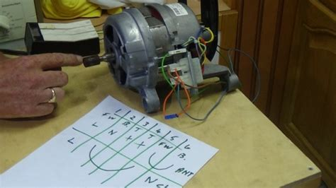 how to test a washing machine motor