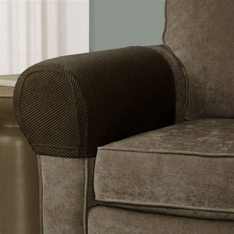 stretch sofa seat covers 2 stretch sofa arm cover soft protectors armrest covers