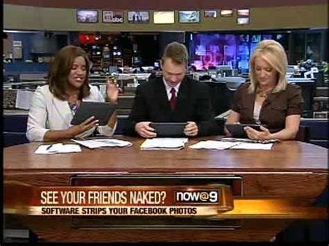 See your Facebook friends in the nude - YouTube
