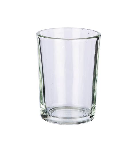 glass candle holders bulk buy 20 side glass votive candle holders 4in bulk buy