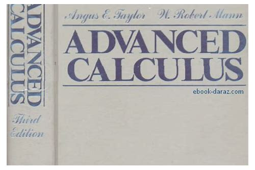 advanced calculus kaplan pdf free download