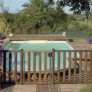 Barriere De Securite Bois : barriere piscine bois bois et plexiglas achat en ligne ~ Dailycaller-alerts.com Idées de Décoration