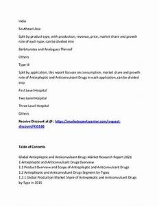 Global Antiepileptic and Anticonvulsant Drugs Market ...