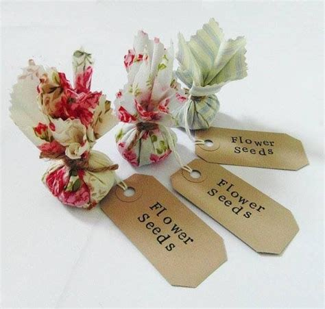 favour idea wedding crafts seed wedding favors
