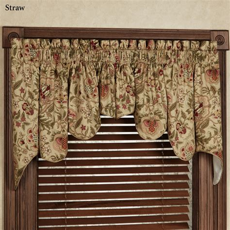 interior curtains for bay windows with waverly valances