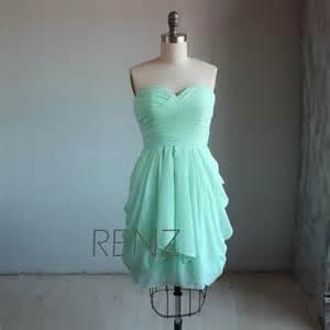 mint bridesmaid dress bright mint bridesmaid dress wedding dress strapless