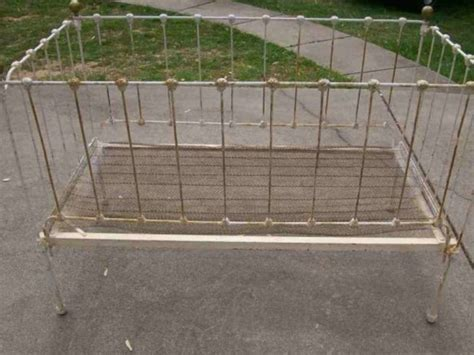 wrought iron crib for vintage wrought iron crib forest ny patch