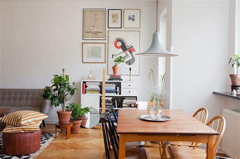 departamento de  ambientes en estilo nordico  vintage