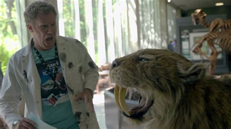 Dr. Will Ferrell Speaks Saber-tooth #howdoyoumuseum
