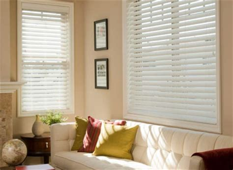1 inch faux wood blinds 2 1 2 quot norman essentials faux wood blinds with smart privacy