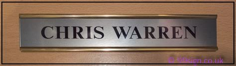 Name Plates Office Door Signs Suite And Office Door Office Door Sign Room Name Plate On Brass Effect Or