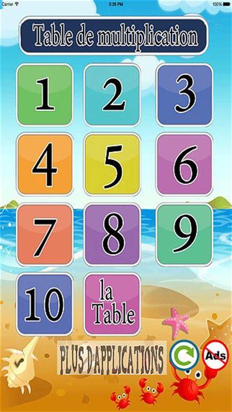 t 233 l 233 charger table de multiplication logicielmac