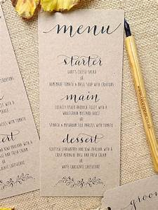 kraft and calligraphy wedding invitations from gbp2 by With cost of handwritten wedding invitations