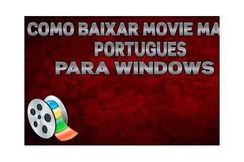 link para baixar movie maker em portugues
