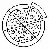 Pizza Icon Whole Icono Entera Transparent Svg Speed Lines Inteira Coloring Vexels Rebanada Eps Drawing Template Square Caja Logos Icone sketch template