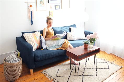 housse canapé ikea karlstad comment customiser canapé ikéa partie 1 changer la