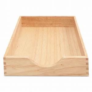carver cw07211 hardwood letter stackable desk tray oak With oak letter tray