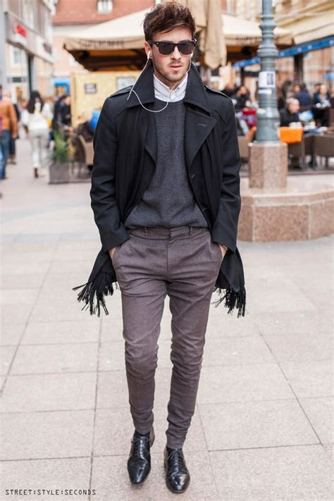 16 Menu0026#39;s Winter Outfits Combinations for Office/Work
