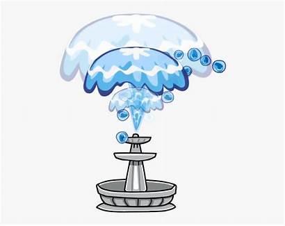 Fountain Clipart Water Cartoon Clip Transparent Clipartkey