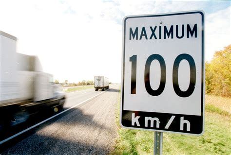 The Speed Limit On E.c. Row Expressway Is 100 Km/h