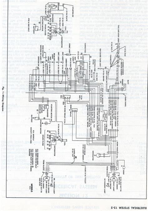1958 chevy wiring diagram wiring data