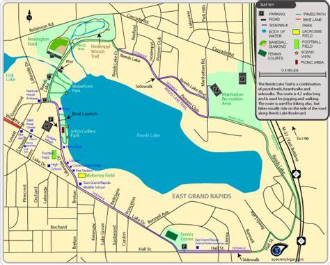 Grand Rapids Michigan Beaches - Michigan coastline map