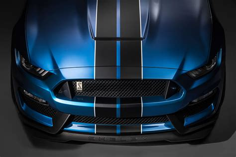 ford shelby gtr detail photo hood front bumper
