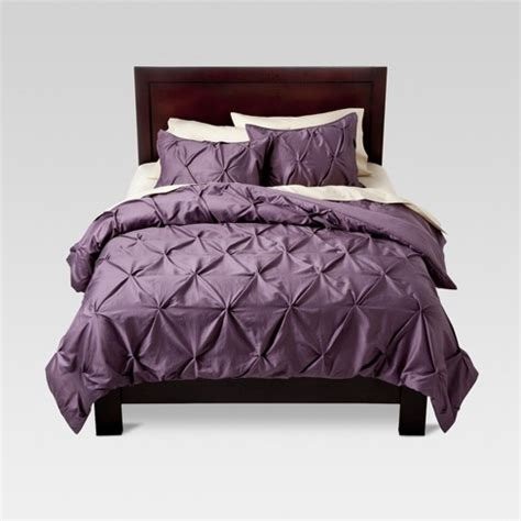 lavender pinched pleat comforter king 3pc